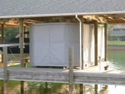 Touchless Boat Cover Boat House Frame