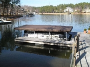 Touchless Boat Cover Floating Docks