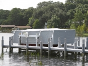 Touchless Boat Cover Intercoastal Frame