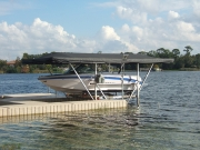 Touchless Boat Cover Mechanical Lift Frame