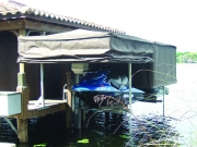Touchless Boat Cover Personal Watercraft Frame